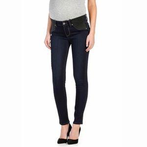 Paige Maternity Verdugo Ankle Skinny Jeans Mona 28